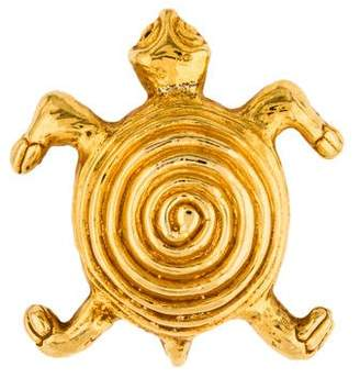 Dominique Aurientis Turtle Brooch