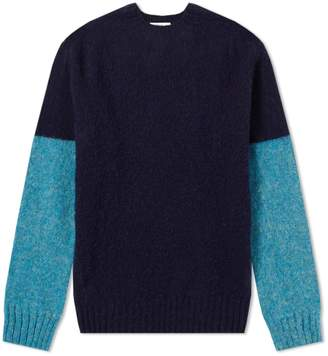 YMC Skate or Die Crew Knit