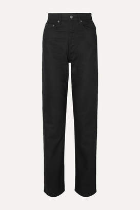 Ksubi Playback Grease High-rise Straight-leg Jeans
