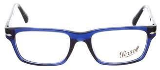 Persol Narrow Square Eyeglasses
