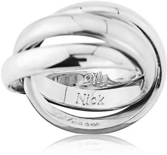 Walton Auree Jewellery 9ct White Gold Russian Wedding Ring 3mm