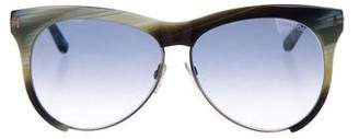 Tom Ford Leona Cat-Eye Sunglasses
