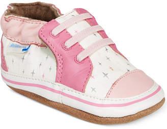 Robeez Trendy Trainer Sneakers, Baby Girls