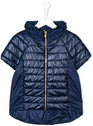 Lapin House short sleeve padded jacket