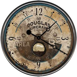 Williston Forge Blough Aircraft Wall Clock