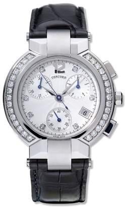 Scala Concord Women's CONC-0310113 La Genuine Leather Watch