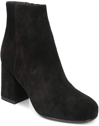 Via Spiga Women's Maury Suede Block Heel Booties