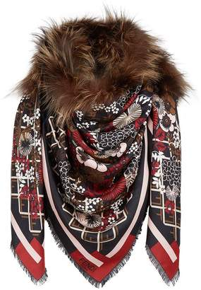 Fendi Touch of Fur scarf
