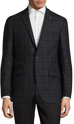 Ted Baker NO ORDINARY JOE Joey Plaid Wool Suit Jacket