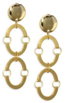 Lele Sadoughi Golden Arch Earrings