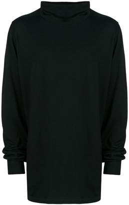 Rick Owens fine knit turtleneck sweater