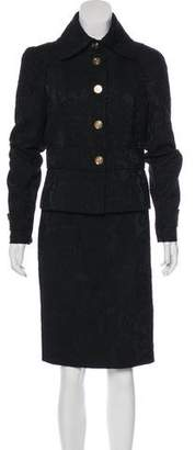 Dolce & Gabbana Wool-Blend Skirt Suit w/ Tags