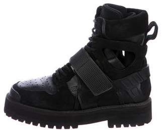 Hood by Air Avalanche Combat Boots
