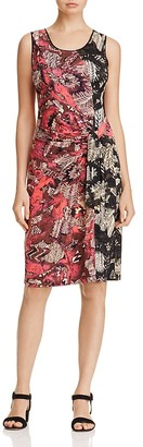 NIC+ZOE Etched Floral Dress $168 thestylecure.com