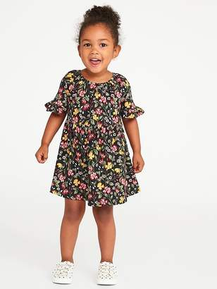 Old Navy Fit & Flare Jersey Dress for Toddler Girls