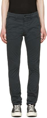 Nudie Jeans Black Slim Adam Trousers $210 thestylecure.com