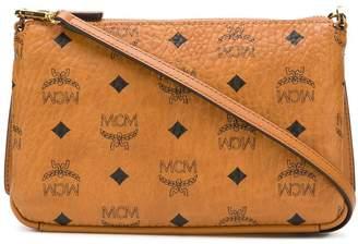 MCM all over logo shoulder bag