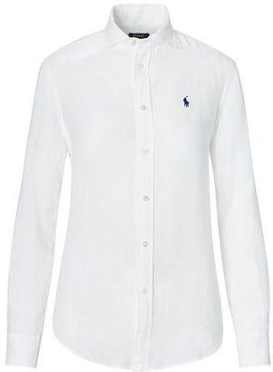 Polo Ralph Lauren Relaxed Fit Linen Shirt $98.50 thestylecure.com