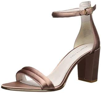 Kenneth Cole New York Women's Lex Block 2 Piece Buckle Closure Heeled Sandal