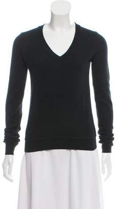Stella McCartney Cashmere & Silk-Blend Sheer-Back Sweater