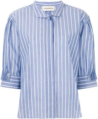 By Malene Birger striped oversized shirt