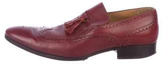 Gucci Leather Wingtip Loafers