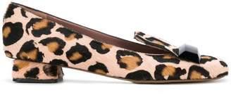 Rayne leopard print pumps