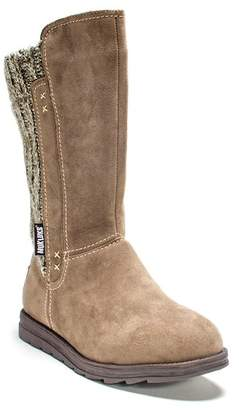 Muk Luks Stacy Suede Sweater Boot