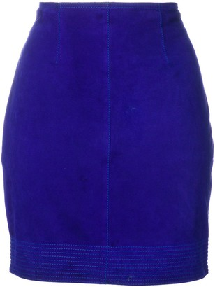 Versace Pre-Owned fitted mini skirt