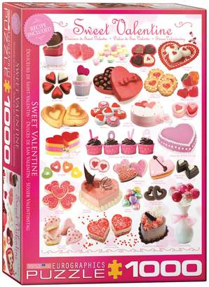 Eurographics Sweet Valentine's 1000-Piece Jigsaw Puzzle Set