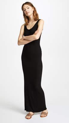 Maxi Black Tank Dress Shopstyle