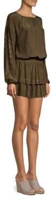 Ramy Brook Sheryl Studded Popover Dress