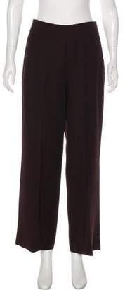 Akris Wool High-Rise Pants