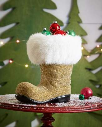 Ino Schaller Golden Santa Boot Collectible, Extra Large