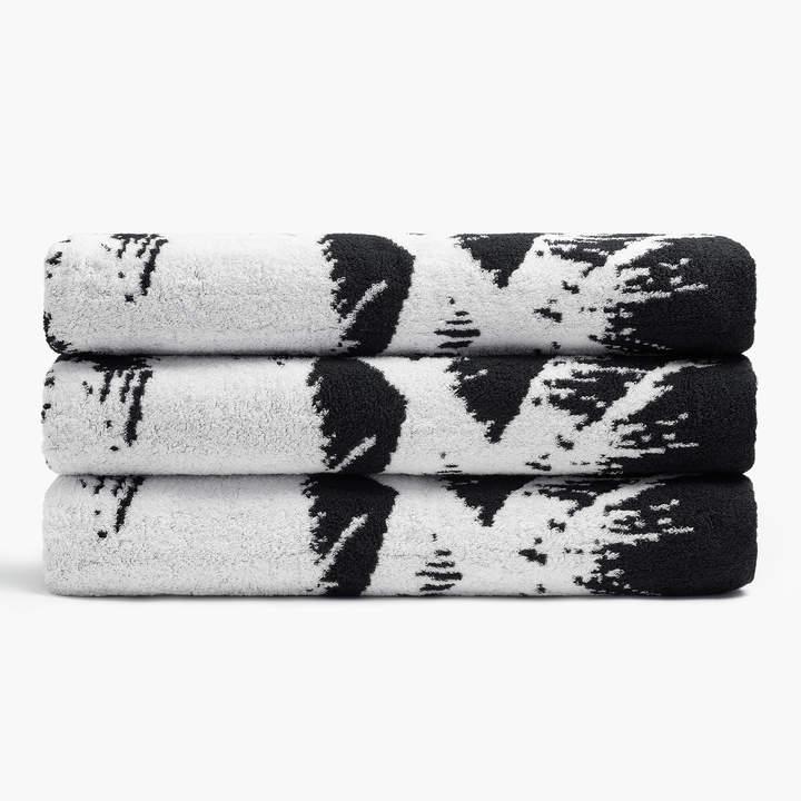 Abstract Palm Tree Beach Towel
