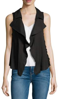 Moon River Split Back Lace-Up Vest