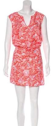 Tory Burch Linen Floral Dress