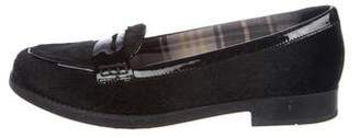Aquatalia Hipster Ponyhair Loafers