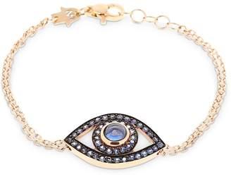 Protected Big Eye Rose Gold Bracelet