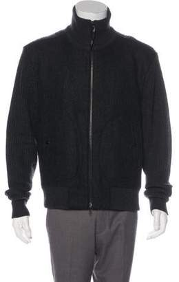 Rag & Bone Wool Zip Sweater