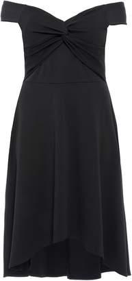 Next Womens Quiz Curve Bardot Knot Front Dress