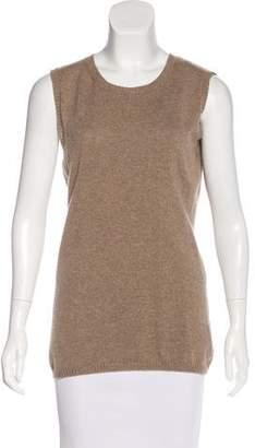 Agnona Cashmere Sleeveless Sweater