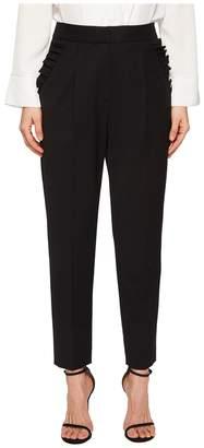 Rebecca Taylor Spring Ruffle Pants Women's Casual Pants