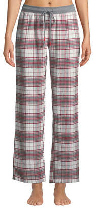 PJ Salvage On Holiday Plaid Pajama Pants