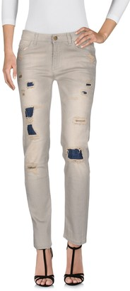 Manila Grace DENIM Denim pants - Item 42618181KL