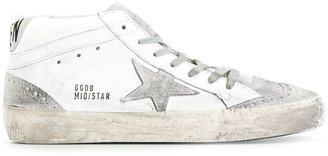 Golden Goose Deluxe Brand 'Mid Star' sneakers $480 thestylecure.com