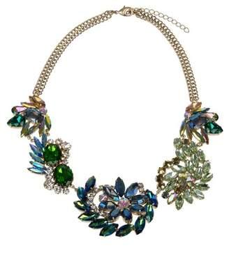 Jardin Stone Floral Statement Necklace