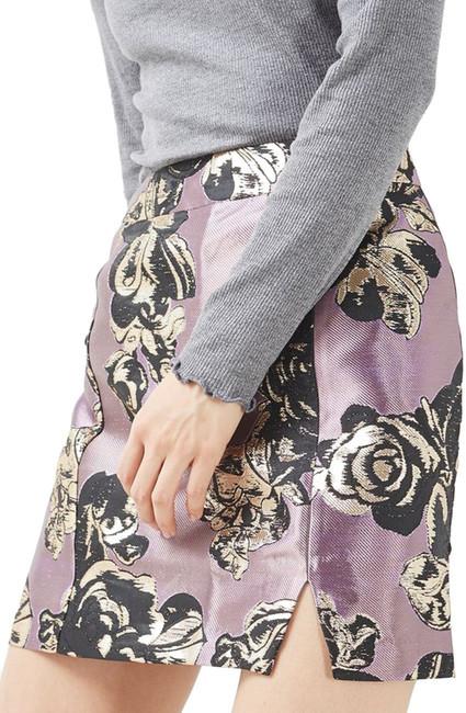 TopshopTOPSHOP Jacquard Pelmet Miniskirt