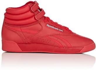 Reebok Women's Freestyle Hi Leather Sneakers