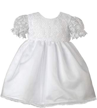 Heritage Lacy White Short Sleeve Dress